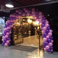 Wholesale Wedding Day balloon arches wedding marriage ceremony opening the door of happiness inflatable collapsible shelf base