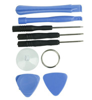 Wholesale 8 in1 Replacement LCD Front Screen Glass Lens mobile phone Opening Pry Repair Replace Tool Kit set for iphone iphone plus