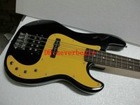 Wholesale Factory Custom Shop new High Quality jazz String Bass Guitar of the black color