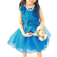 baby party dresses online - Fashion style for2016 new dress Baby Girls Princess Flower Party Wedding Bridesmaid Dress online hot sale