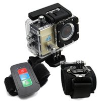band cam - K WIFI Action Camera Sport Outdoor Camera Waterproof HD Cam Video Rotation Wrist Strap Band Holder Mount Q3H YSH