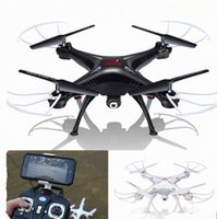 Wholesale WIFI RC Drone FPV Quadcopter With HD Camera G Axis Real Time RC Helicopter Quadcopter Toys