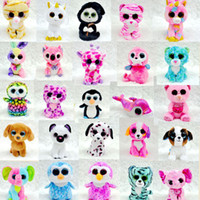 beanie kids games for free - Ty Beanie Boos Plush Stuffed Toys Big Eyes Animals Soft Dolls for Kids Christmas Gifts Free DHL XL P206