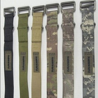 airsoft belt - 1000D Nylon Airsoft Tactical CQB Emergency Steel Silver Buckle Rescue Belt