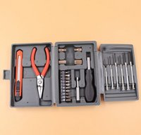 Wholesale 24 PC hardware tool Screwdrivers Pilers Knives set