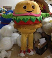 advertising apparel - High Quality Hamburg mascot costume McDonald s food advertising Costumes Apparel Adult Size mascot