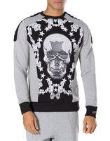 Mens blazers de sport France-2016 NOUVEAUX hoodies occasionnels de crânes de l'étoile des hommes de PP hommes sweat hoodie de mode de mode sweat de blazer NWT taille M-3XL