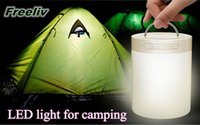 Wholesale LED light Bluetooth speaker with TF card and handsfree portable lanterns for hiking and camping