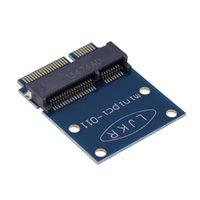 Wholesale New Mini PCI E to Mini PCI E Pin Protector Tester Card Adapter for PC Desktop