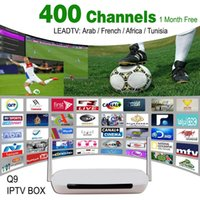 Wholesale Android TV Box Q9 Android G G Wifi Quad Core One Month Iptv Subscription Iptv Account With Arabic French Channels