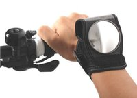 Wholesale bicycle Cycling back rear view mirror goodhand back view mirror miretroreflector wrist guards built in viewfinder black bike accessories