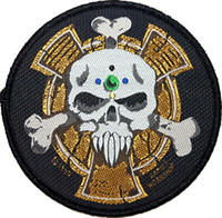 animated marine - Space Marine Crux Terminatus Sergeant Badge Warhammer k Animated Movie TV Series Costume Woven Emblem applique iron on patch