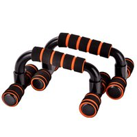 Wholesale Pieces Pair High Strength Push Up Bar Body Building Fitness Equipments Home Gym Muscle Training Tools cm Portable