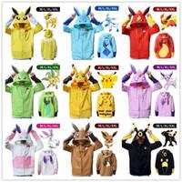 Wholesale Poke Pokeball Pikachu Umbreon Eevee Espeon Jolteon Vaporeon Flareon Glaceon Leafeon Sylveon Cosplay Hoodies Unisex Casual Sweatshirt