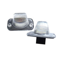 auto parts numbers - Car styling x LED car rear number plate light for VW T4 Candy Jetta Touran auto replacement accessory parts