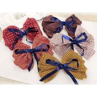 big clip art - Korean Fashion Art Cloth Hairpins Dots Big Bowknot Spring Clip Barrette Headwear Hair Jewelry for Girls Hair Accessories
