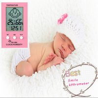 Wholesale Baby room hygrometer Time limited Household Thermometer Intelligent Electronic Hygrometer Thermometer Home Baby Room