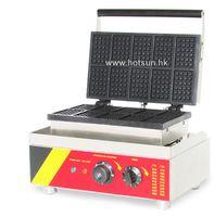 belgian waffle irons - Commercial Non stick V V Electric Belgium Belgian Waffle Maker Baker Iron Machine