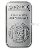 apmex silver - Apmex Oz Fine Silver replica Art bullion Bar Bars non Magnetic
