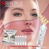 Wholesale Real Plus Beauty Eye Cream s s Remove Eye Bags Anti Wrinkles Get Rid of Under Eye Circles Makeup vs Ageless Eye Cream box