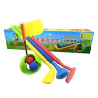 baby golf clubs - Urchin free kindergarten children indoor golf club set baby outdoor parent child sports toys