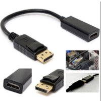 Wholesale 2016 New DP Displayport Male to HDMI Female Cable Converter Adapter for PC HP DELL A