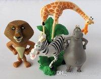 alex toys - Madagascar Alex Marty Playset set Figure Cake Topper PVC Action Figures Toys Dolls Kids Gifts by DHL sets