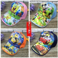 Wholesale Children s sun hat men and women cover Cartoon caps for boys Caps for kids cutei Hats wholesalers Novelty hats Hats wholesalers