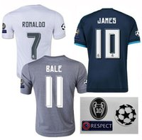 Wholesale Thailand quality Real Madrid jersey James isco modric survetement hem siut football football shirt