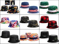 Wholesale 2016 New Cayler Son Bucket Hat For Men And Women Fashion Hip Hop Fishing Hats Leather Wide Brim Sun Hats