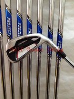 Wholesale Brand New Golf Clubs Irons AP Forged Golf Irons P Dynamic Gold Steel Shafts DHL