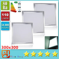Wholesale LED Panel Lights mmx300mm W W W LED Recessed Ceiling Panel Down Light Led Light CE UL