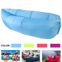 beauty bed - Fast Inflatable Beauty and the beast Lamzac hangout Air Sleep Camping Bed KAISR Beach Sofa Lounge Need Ten Seconds Sleeping bags VS lamzac