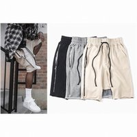 Wholesale brand Summer Style mem s RO Shorts Hip Hop Fear of god Justin Bieber Love Loose Hight Street Kanye West outerwear shorts