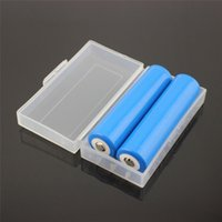 Wholesale Free DHL protable Battery Storage Box Case White for CR123A A batteries