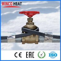 autoregulación de los calentadores solares de agua anticongelante tubería y cable de calefacción protección calentamiento congelación de tuberías casa