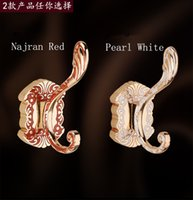 bag hook for wall - New Dragon Design Wall Mount Towel Hanger Hooks for Hanger Hooks Coat Hat Bag Hooks Bathroom Accessories Hook amber red hanging hook