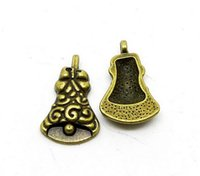 bell gram - A4017 bell pc bag of grams of x15mm antique bronze colour alloy bead jewelry accessories