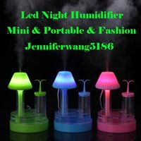 aromatherapy works - 2016 New Arrival Mini USB LED Night Humidifier for Home and Hotel and working Office and Car Air Purifier Mist Maker Fogger
