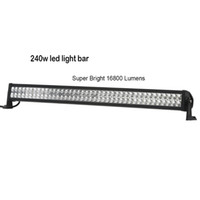 bar spot lights - 41 Inches W V V DC Combo Lumen Waterproof Off Road LED Work Light Bar For Jeep Truck ATV UTV