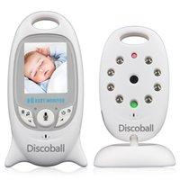 baby sensor monitor - 2 Inch Color LCD Wireless Digital Audio Video Security Baby Monitor Way Talk Night Vision Alarm Sensor with Lullabies Temperature Talkin