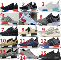 Wholesale 2016 NMD Originals Runner PK black white Men s Women s Original Classic Cheap Fashion Sport Shoes Originals NMD Runner PK black