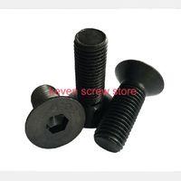 Wholesale M3x6 mm M3 mm flat head countersunk head black grade Alloy Steel Hex Socket Head Cap Screw