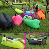 backpacking stuff - Fast Inflatable Air Sleeping Bag Outdoor Couch Portable Sofa Hangout Lounger Air Bed Camping Sleeeping Bag Saco de dormir rápido