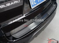 Wholesale Blue word type Rear Trunk Scuff Plate Door Sill Bumper Protector for Forester SG5