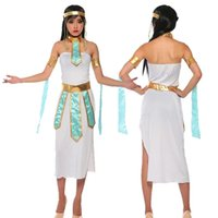 ancient egyptian costumes - Halloween costume ancient Egyptian queen Cleopatra costume theme party stage performances uniforms sexy uniform number