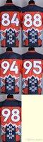 Wholesale 2016 Newest Men s New Style Noble Fashion Orange Elite Jerseys Football Jerseys High Quality Stitched