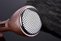achat en gros de main micro tenue-Qualité supérieure! Microphone stéréo sans fil Bluetooth Haut-parleur pour Karaoke main Mic pour Chatting Singing dans Skype / MSN Mic pour réunion