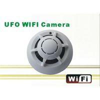 smoke detector camera - UFO Smoke Detector Spy Cameras Wifi Point To Point Wireless Spy Hidden Cameras for Cellphone WH24