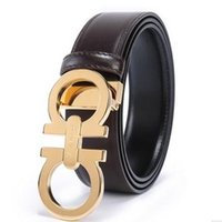 best mens birthday gifts - Top Best Mens Belts Underquote Famous Brand Smooth Buckle Business Calf Leather Steel Buckle As Gift Father s Day Birthday Present